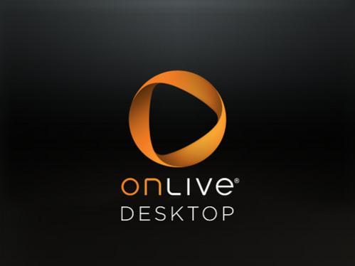 OnLive Desktop logo within iPad app