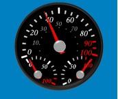 Network Speed gauge