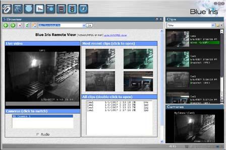 Blue Iris video security software