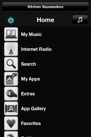 Squeezebox on Android