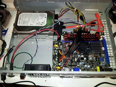 New components installed in TiVo case